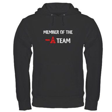 I'm a member of the A team, are you? Get this hoodie & others like it at http://pretty-little-liars-books.com/pretty-little-liars-merchandise/