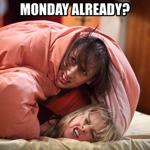 Monday already? #mirandahart