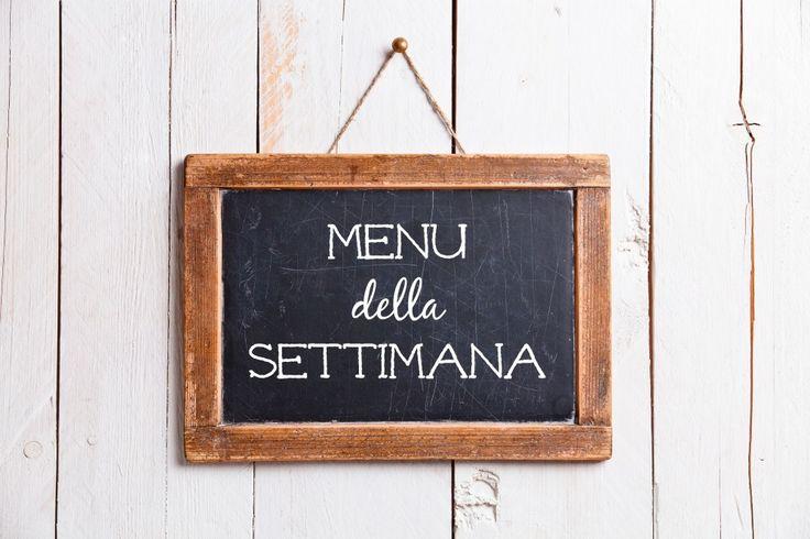 Buongiorno e buon venerdì! Ecco pronto per voi il menu per tutta la prossima settimana. La natura è in bilico tra tardo inverno e inizio primavera: il no