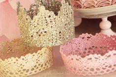 Como hacer una corona de princesa - All Lovely Party