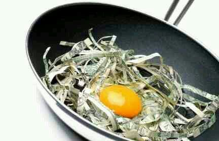 Sorry your eggs are going to be a little dry this morning....