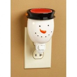 Snowman Plug-in Wax Tart Warmer