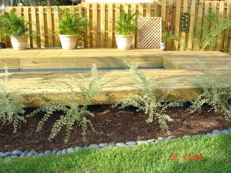 Image detail for -Landscaping Ideas > Garden Design > Pictures: Above Ground Lap Pool ...