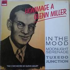 DISQUE VINYLE 33T_ GLENN MILLER_12 TITRES_IN THE MOOD_MOONLIGHT SERENADE