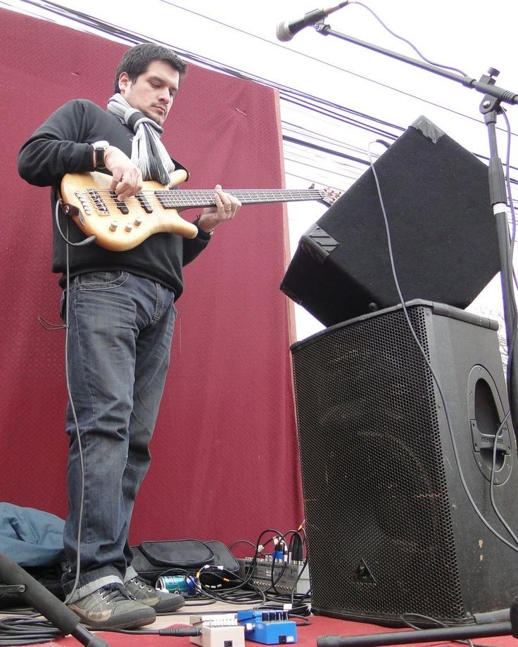 Bass Player by shepozone.deviantart.com on @deviantART