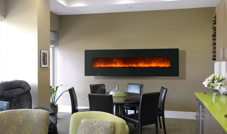 Wall Mount Electric Fireplace for Sale | AllModern