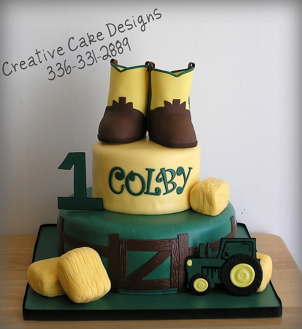 Cowboy Birthday Cake by Creative Cake Designs (Christina), via Flickr