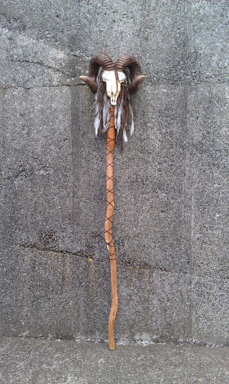 Voodoo Tribal Staff Walking Stick                                                                                                                                                     More
