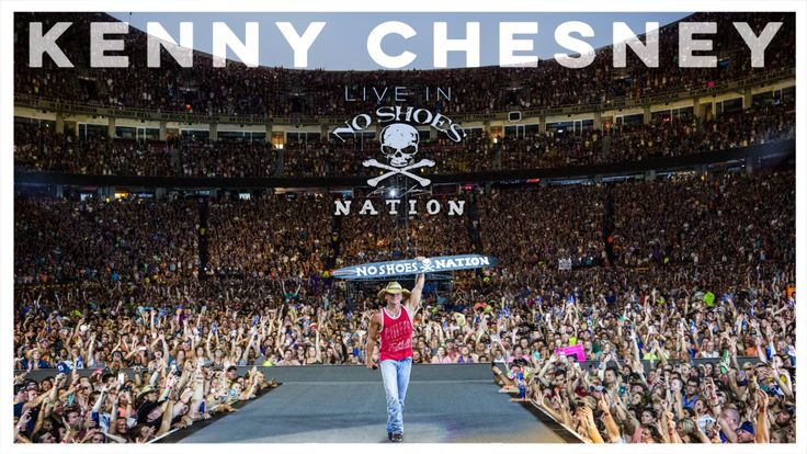 Kenny Chesney new album Live In No Shoes Nation debuts Oct. 27 | Hear & Now