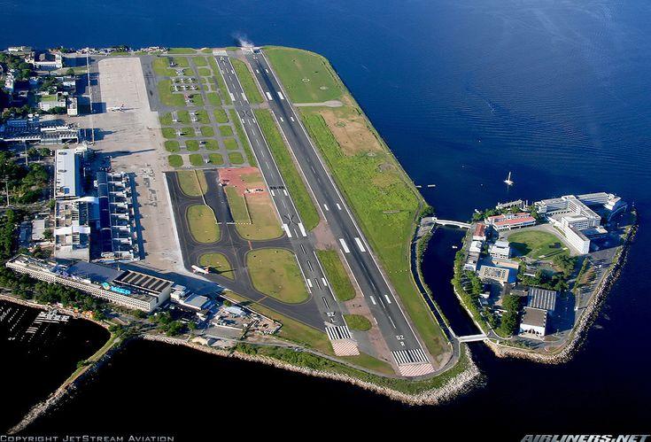 Santos-Dumont Airport, Rio de Janeiro...