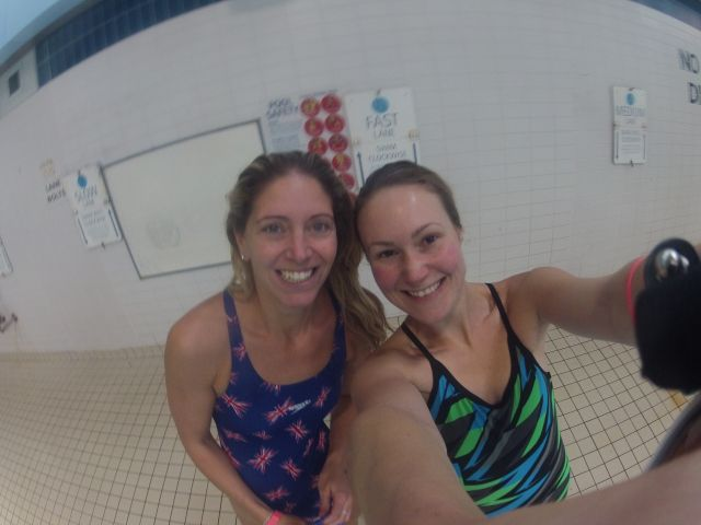 Get swimming tips from an Olympian here!