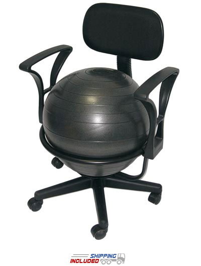 22 best exercise ball office chair images on pinterest | ball