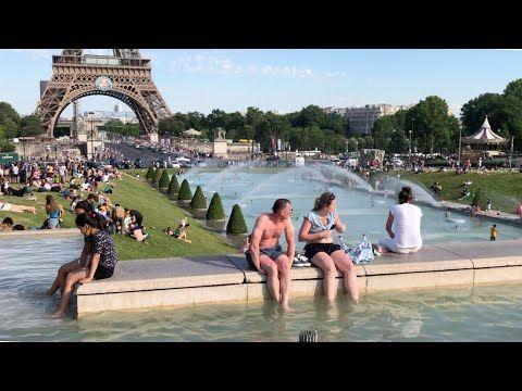 Piscinão da Torre Eiffel em Paris – YouTube