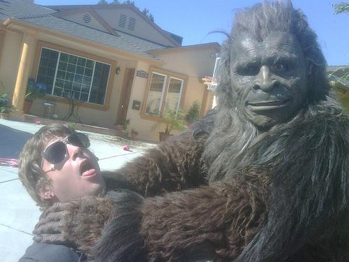 Rob Thomas and Bigfoot