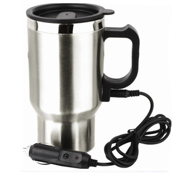 High Quality Stainless Steel Car Cup Hearter Car Kettle Car Electric Heating Water Cup 450ml,Car Hot and Cold Cups Auto Supplies