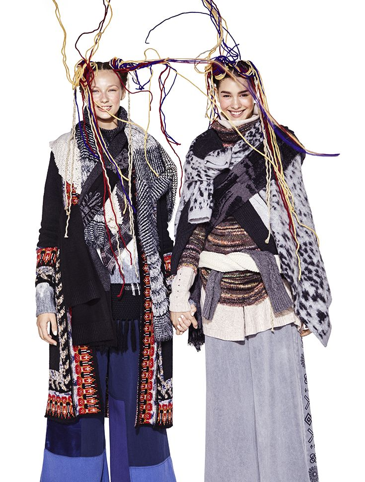 Desigual Tricot collection want to capture all women with colors, multiple prints and a textures mix. Discover our Tricot super soft and choose between cardigan, pullover, sweater and more! Discover Desigual Fall/Winter 2017 collection!