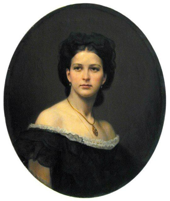 Imperial Russia, Portrait of countess Sofia Bobrinska and a...