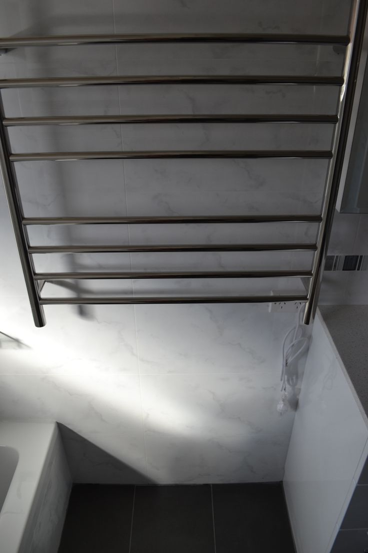 Rounded Stacker Rail - Bathroom - Renovation - Perth - On the Ball Bathrooms