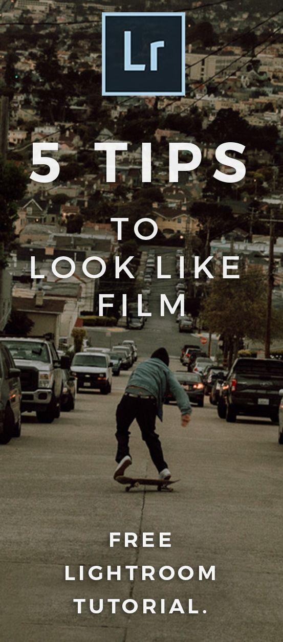 Make photos look like film