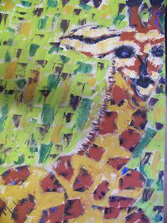 A Pretty Talent Blog: Paint An Expressive Giraffe In Oils