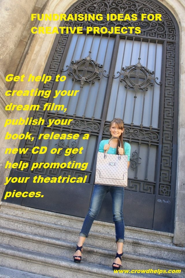 Get help to creating your dream film, publish your book, release a new CD or get help promoting your theatrical pieces. #crowdfunding #women www.crowdhelps.com