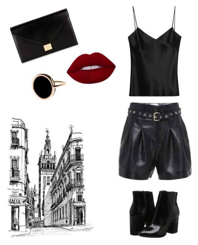 """Untitled #7"" by may-kazoun on Polyvore featuring Galvan, Victoria Beckham and Ginette NY"