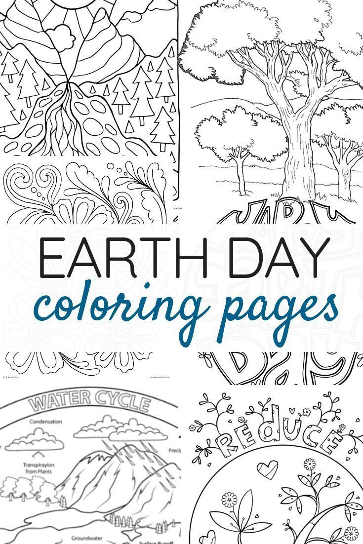 The Best Earth Day Coloring Pages In 2020 Earth Day Coloring