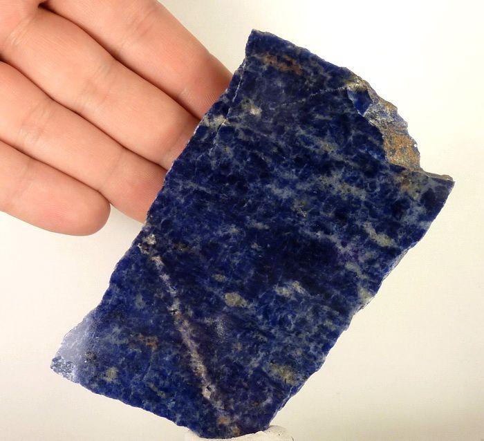 SODALIT - intensywna niebieska barwa - poler