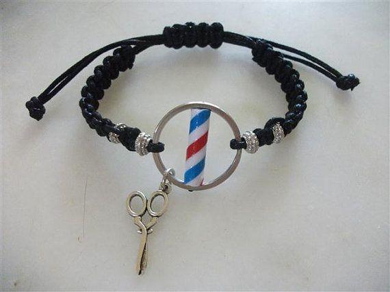 Barber Pole Bracelet New Model Barber Pole by neduk on Etsy