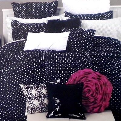 Cynthia Rowley 8 Pc Polka Dot Duvet Cover Amp Shams Amp Sheets
