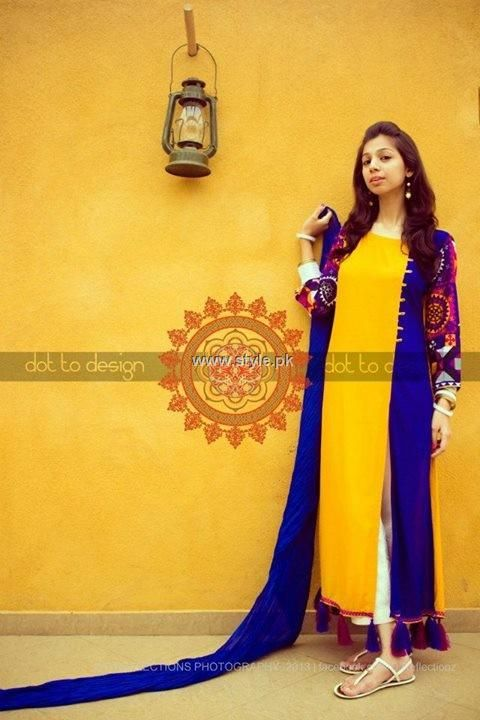 HK Dot to Design Eid Collection 2013 for Girls 001 for women local brands