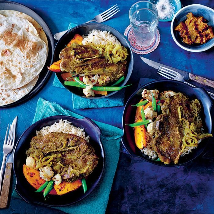 This east lamb curry recipe uses a lesser known cut - the  forequarter chop, to impart flavour and a new dimension to the traditional curry.