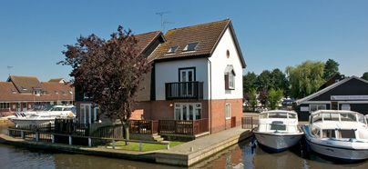 Visit www.broads.co.UK for your perfect waterside holiday alongside the Norfolk Broads, Wroxham