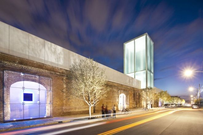 The new SCAD Museum of Art in Savannah with architecture by Christian Sottile