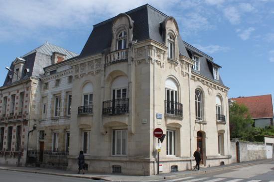 Maison art nouveau à Châlons-en-Champagne , France