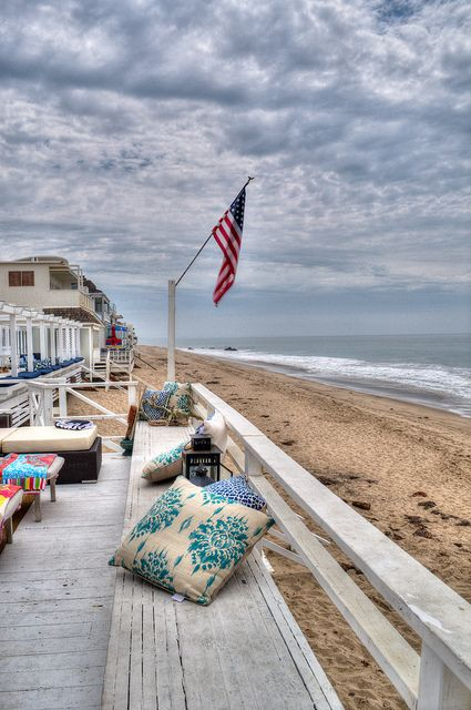 Pacific Ocean, Malibu Beach, California #travel#outdoor