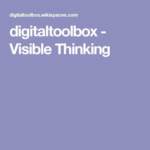 digitaltoolbox - Visible Thinking