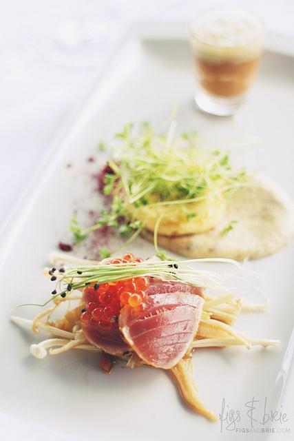 White Tasting Plate at Esca Bimbadgen Restaurant #huntervalley