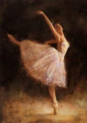 Ballerina painting | Art | Pinterest | Antigua, Ballerina ...