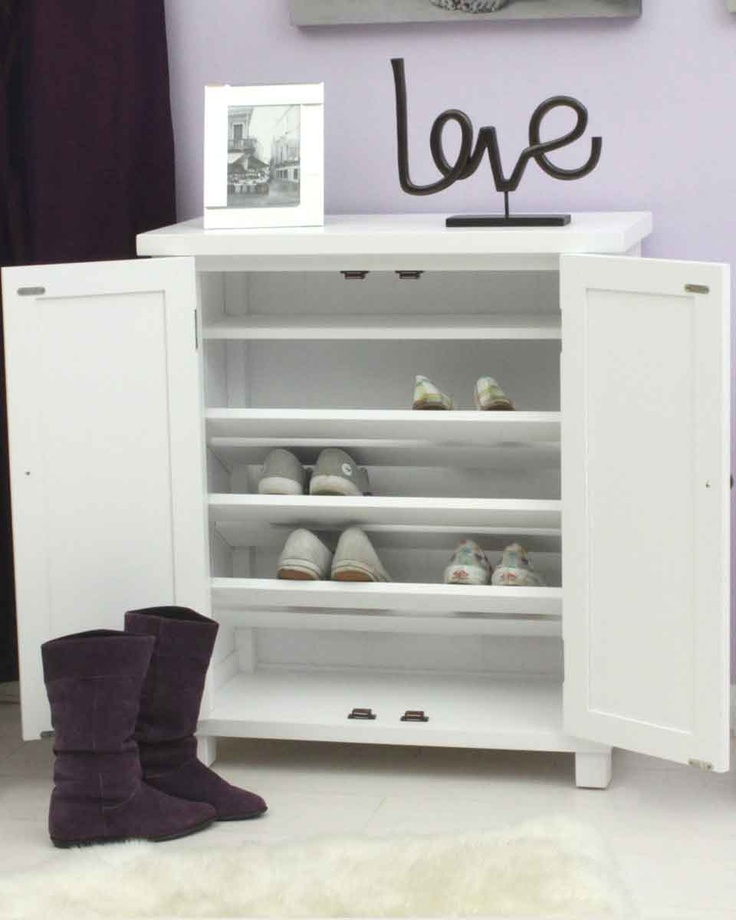 This Stylish White Shoe Cupboard Is An Attractive Yet Highly Practical Storage  Cabinet That Frees Up Part 40