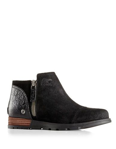 Shoes   Women's Shoes   Major Low Side Zip Leather Boots   Hudson's Bay