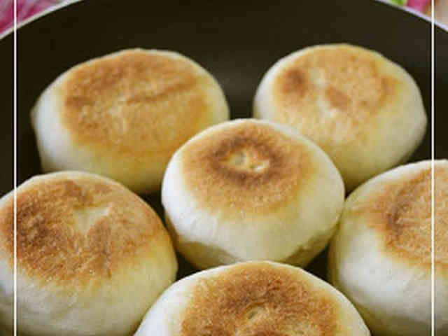 フライパンでパン!!@フライパン26㎝の画像