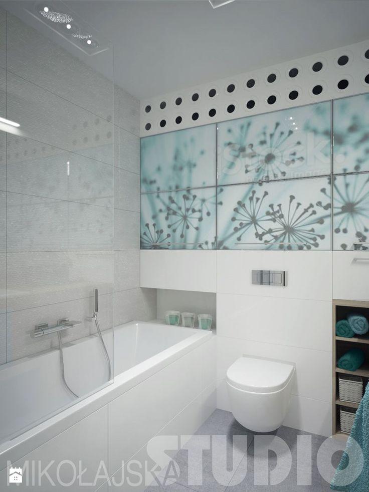 Łazienka w kolorze morskim - zdjęcie od MIKOŁAJSKAstudio - Łazienka - Styl Nowoczesny - MIKOŁAJSKAstudio
