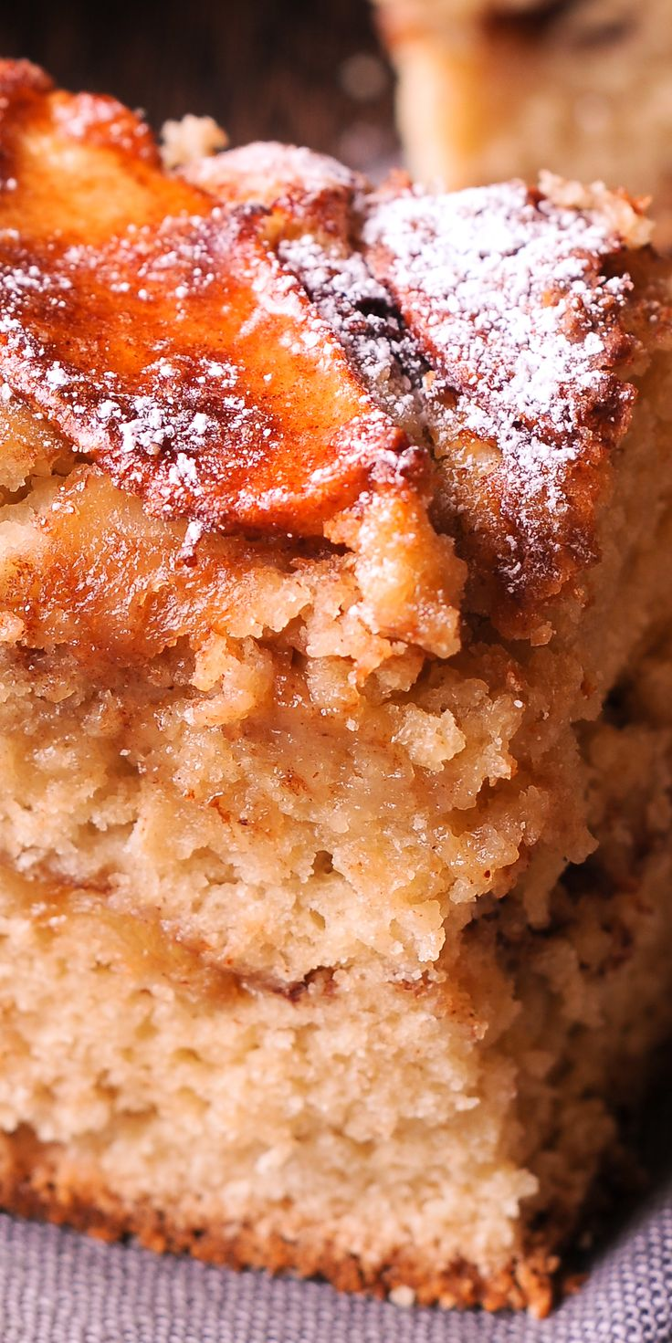 Apple Cinnamon Cake (dairy free recipe)