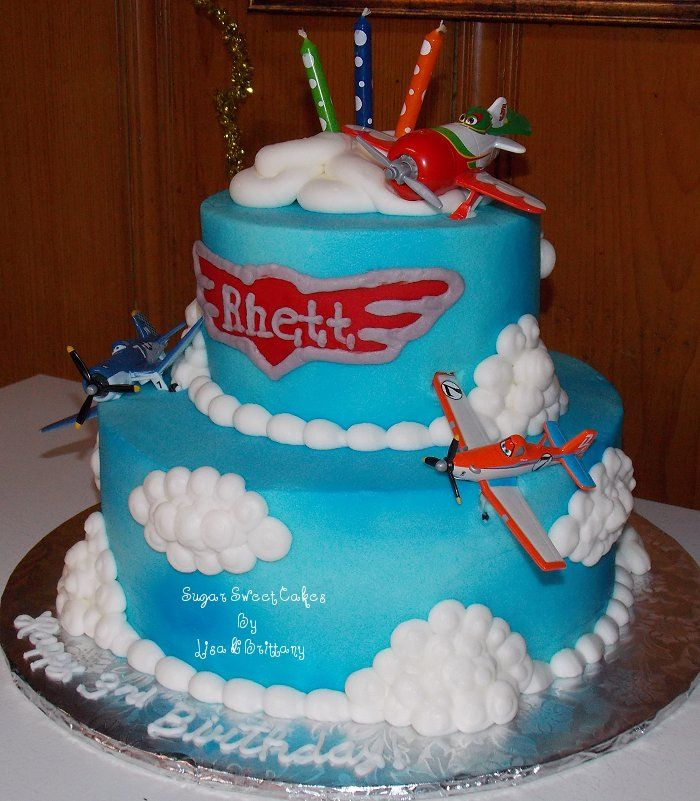 Disney Planes Birthday Cake | Original Embed