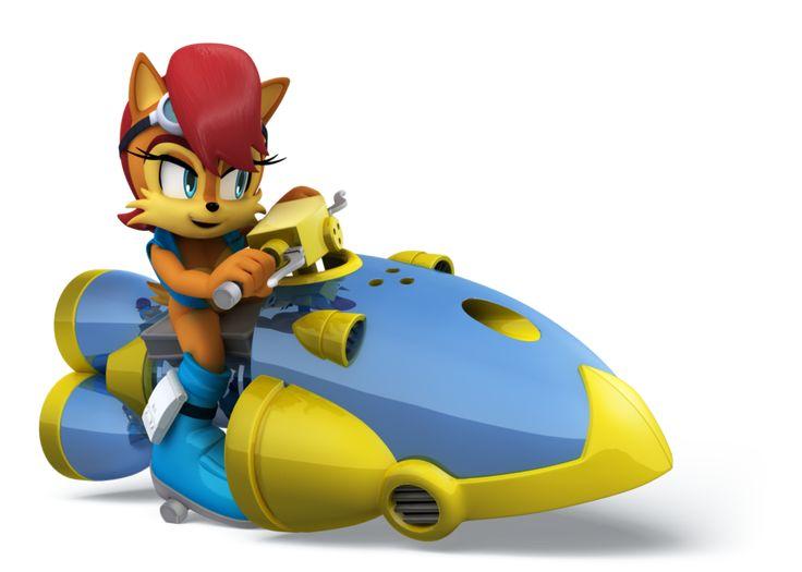 Sally All Star Racing By Elesis Knight On Deviantart Sonic And Shadow Sonic Fan Art Hedgehog Art