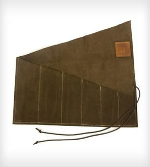 Waxed Canvas Tool Roll | Men's Accessories | Red Clouds Collective | Scoutmob Shoppe | Product Detail