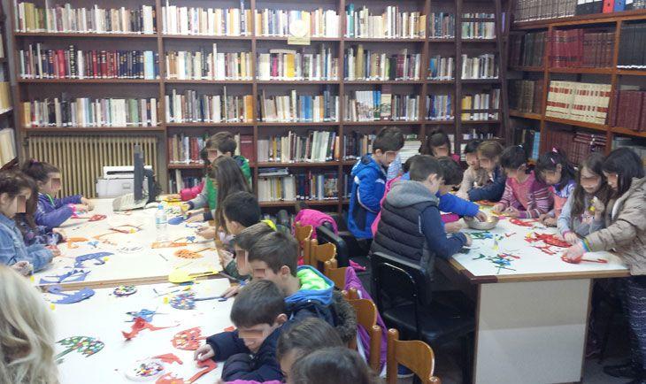 Άρτα: Άνοιξε τις πόρτες στους μικρούς της φίλους η Βιβλιοθήκη του Μ/Φ Συλλόγου ΣΚΟΥΦΑΣ