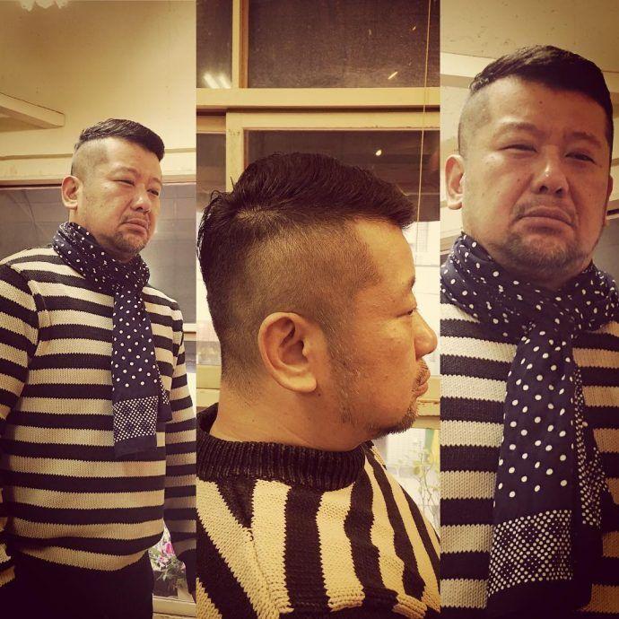 ケンコバ(ケンドーコバヤシ)最新の髪型!刈り上げ&後ろ!
