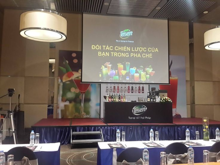 New product presentation, tasting and Professional Range workshop in Saigon, Vietnam